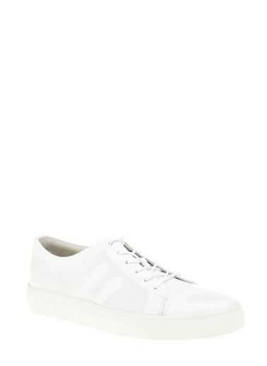 %100 Deri Sneaker-Greyder